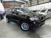 2011 BMW X3 2.0D X-DRIVE
