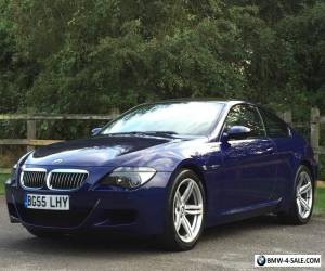 2005 55 BMW M6 COUPE 7 SPEED SMG 5.0 V10 BLUE E63 M5 M3 for Sale