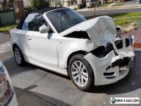 Damaged BMW 120i 2010