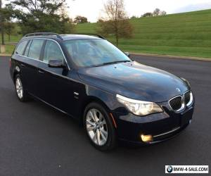 2009 BMW 5-Series 5 SERIES WAGON*AWD*BLUE/TAN*PANO*NAV*WARRANTY for Sale