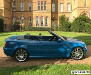 2003 BMW M3 Convertible SMG * RAREST COLOUR * NAVIGATION * FSH * for Sale
