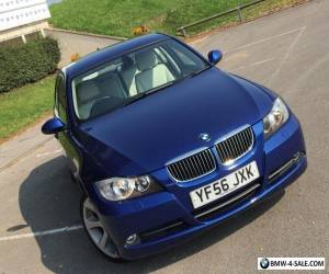 BMW 330i SE 2007 (56) ! SIMPLY STUNNING ! AUTO BLUE CREAM LEATHER FSH for Sale