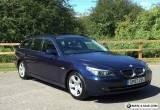 2007 BMW 520D SE DIESEL MANUAL TOURING BLUE ESTATE E60 E61 M SPORT 525D 530D for Sale