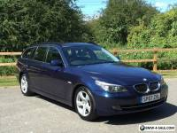 2007 BMW 520D SE DIESEL MANUAL TOURING BLUE ESTATE E60 E61 M SPORT 525D 530D