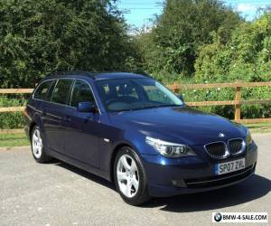 2007 BMW 520D SE DIESEL MANUAL TOURING BLUE ESTATE E60 E61 M SPORT 525D 530D for Sale
