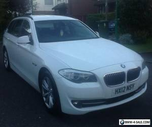 BMW 530 d SE fsh 12 reg automatic sport box paddle shift alloy wheels stop start for Sale
