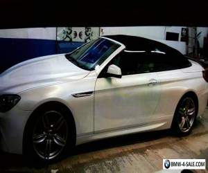 *** PEARL WHITE BMW 640D FULLY LOADED SOFT TOP*** for Sale