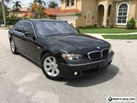2007 BMW 7-Series I
