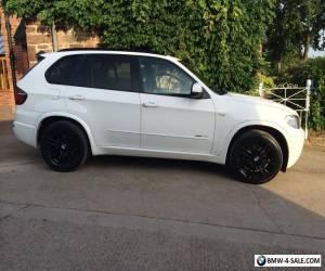 2012 BMW X5 XDRIVE40D M SPORT AUTO WHITE Professional Sat Nav Media 7 Seats for Sale