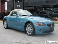 2004 BMW Z4 2.5i Luxury Import Performance Sport Roadster