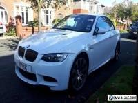 BMW M3 Convertible white 2008 px