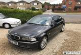 BMW 330ci SE, black leather, manual, long MOT, 126k, best colour and spec for Sale