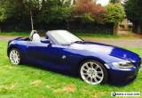 2008 BMW Z4 2.0I M-SPORT CONVERTIBLE SPECIAL EDITION BLUE DAMAGED REPAIRED CAT-D for Sale