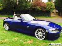 2008 BMW Z4 2.0I M-SPORT CONVERTIBLE SPECIAL EDITION BLUE DAMAGED REPAIRED CAT-D