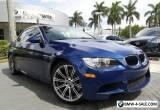 2013 BMW M3 Base Convertible 2-Door for Sale