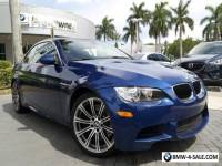 2013 BMW M3 Base Convertible 2-Door