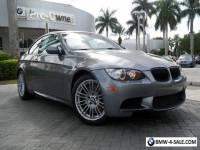 2013 BMW M3 Base Coupe 2-Door