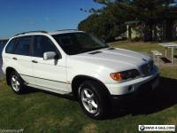 BMW X5 2001 EXCELLENT CON RARE IN WHITE