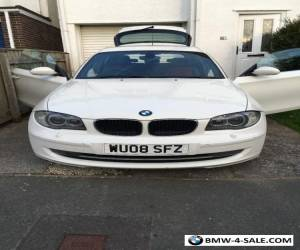 bmw 1 series white automatic  for Sale