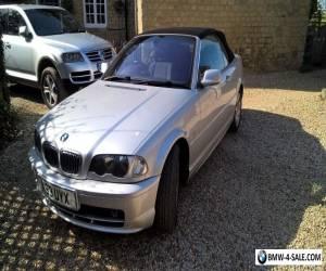 2000 BMW E46 Convertible 320CI Automatic for Sale
