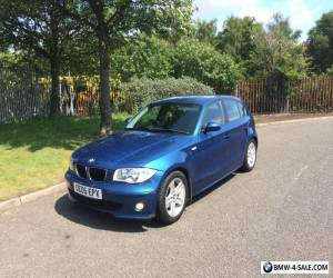 2005 BMW 1-Series 118D Sport (SPARES OR REPAIRS) ENGINE GOOD for Sale