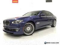 2013 BMW 7-Series ALPINA B7 LWB 1 OWNER! $12K IN OPTIONS! $143K MSRP!