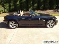 2001 BMW Z3 Roadster Convertible 2-Door
