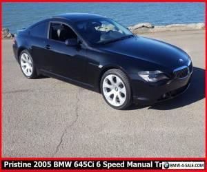 2005 BMW 6-Series 645CI for Sale