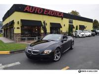 2010 BMW M6 Base Convertible 2-Door