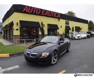 2010 BMW M6 Base Convertible 2-Door for Sale