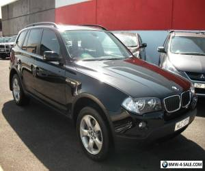2008 BMW X3 E83 WAGON BLACK 2.0LTR TURBO DIESEL 6SPD AUTO REG AND RWC MERCEDES for Sale