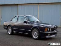 1984 BMW M6 Euro M635csi