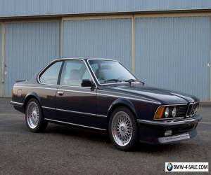 1984 BMW M6 Euro M635csi for Sale