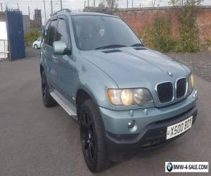 Bmw x5 m sport 2003 Auto diesel 108000 miles Full DVLA verified Mileage history for Sale
