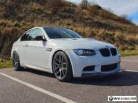 BMW E92 M3 Manual Alpine white Rare Red Leather. not M5 M6 Evo Gtr Rs Supra