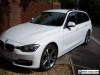 BMW 3 Series 2.0 320d White Blueperformance Sport Touring 5dr 2012 Immaculate.