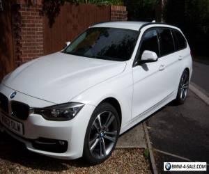 BMW 3 Series 2.0 320d White Blueperformance Sport Touring 5dr 2012 Immaculate. for Sale