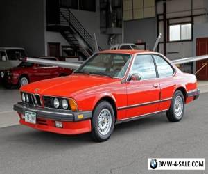 1983 BMW 6-Series 633CSi for Sale