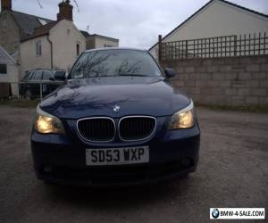 BMW e60 525i Rare 6-Speed Manual FSH for Sale