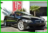 2009 BMW 6-Series Base Convertible 2-Door for Sale