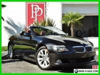 2009 BMW 6-Series Base Convertible 2-Door