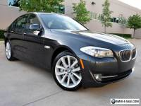 2012 BMW 5-Series Anthracite Wood Trim