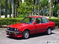 1987 BMW 3-Series 2 Door