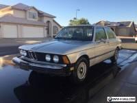 1979 BMW 3-Series e21