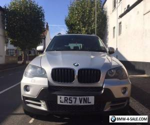 2007/57 BMW X5 SE 3.0D SE 5S AUTO SILVER for Sale