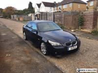 2005 BMW E60 525D M SPORT PRIVATE PLATE
