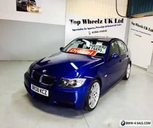 BMW 320D M SPORT, 2008 PLATE, LE MANS BLUE, FULL SERVICE HISTORY & 12 MONTHS MOT for Sale