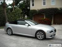2008 BMW 6-Series convertible