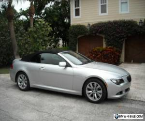 2008 BMW 6-Series convertible for Sale