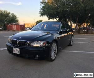 2007 BMW 7-Series BWM 750i for Sale